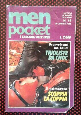 VINTAGE MENS ADULT GLAMOUR MAGAZINE 1986. No16