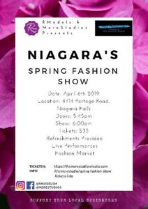 DANCE AUDITIONS: NIAGARA SPRING FASHION SHOW.