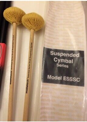 Suspended Cymbal Mallets - Malletech ESSSC Suspended Cymbal Mallets