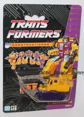 1991 Hasbro Transformers Constructicons G2 European UK Recolor Scavenger MOC