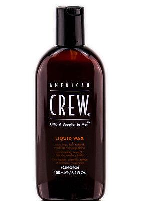 American Crew Liquid Wax Medium Hold and Shine 5.1 oz American Crew Hair Wax