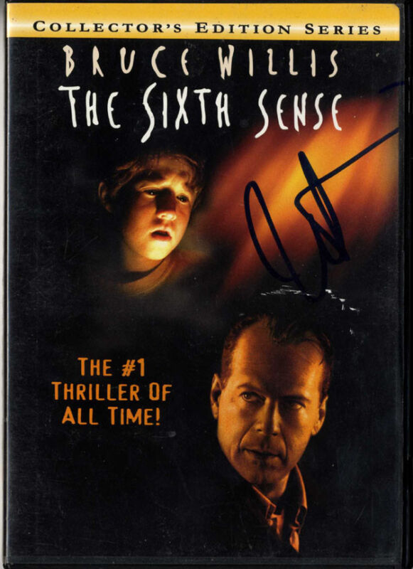 Haley Joel Osment Autographed Signed Sixth Sense DVD Case UACC RD COA AFTAL