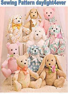 Stuffed Teddy Bear Dog Bunny Size 14
