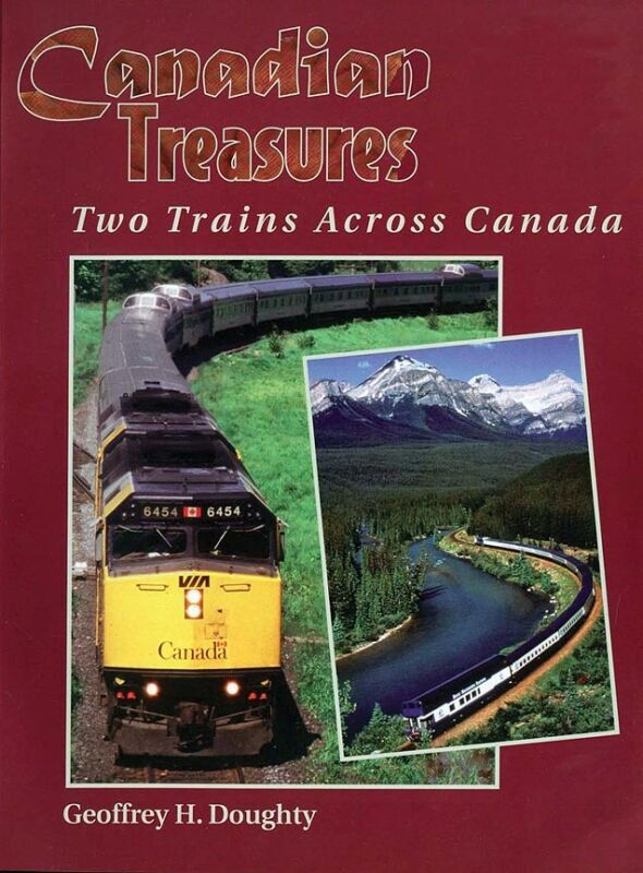 """CANADIAN TREASURES: Two Trains Across Canada """"Canadian"""" """"Rocky Mountaineer"""", NEW"""