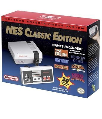 Authentic Nintendo Entertainment System  Nes Classic Edition  Usa Version  New