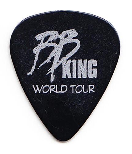 B.B. King Black/Silver Single-Sided Guitar Pick - 2008 Tour