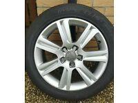 """5x112 fitment Audi a4 17"""" SE Alloy wheels & Tyres (full set)"""