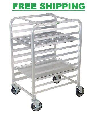 Bun Sheet Bake Rack Half Height 10 Baking Load Pan Storage For Commercial Bakery