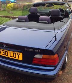 BMW 323i E36 Convertible 2.5 Automatic