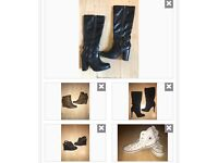 Brand name women's shoes bundle, sizes 5-6UK