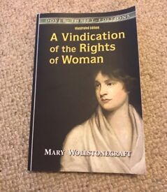 A vindication of the rights of woman book