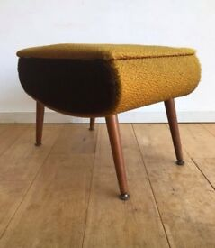 Vintage Sherborne 'Pandora' sewing/craft stool