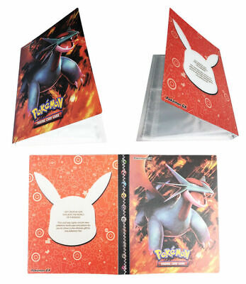 Pokemon Card Binder Portfolio Pocket Album Card Holder 240 Cards Salamence