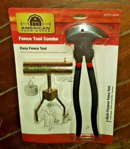 Fence Tool Combo: (1) Easy Fence Tool & (1) Multi-Purpose Fence Tool - ATFC-AFW