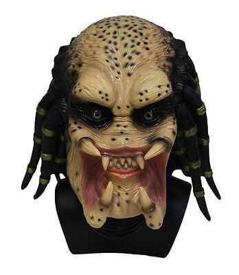 Alien Vs Predator Adult Halloween Mask Space  Scary  Harror New Costume