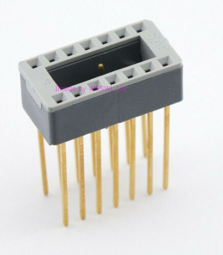 SAE Quality 14 Pin DIP IC Socket Wire Wrap New - Sold by W5SWL