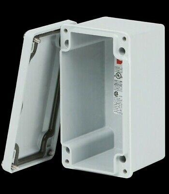 Stahlin Cf644 Non-metalic 6 L X 4w X 4d Fiberglass Enclosure Skbawa-s042-mb