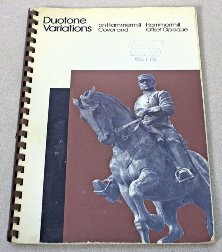 Duotone Variations on Hammermill Cover and Hammermill Offset Opaque