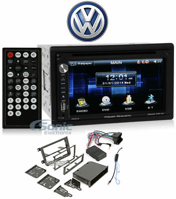 "In-Dash 6.5"" DVD/CD Player Receiver Monitor w/Bluetooth For 10-14 Jetta Wagen VW (Dvd-player In Dash)"