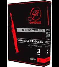 Gonzalez Bb Tenor Saxophone Reeds Strength 4.5 Box of 5