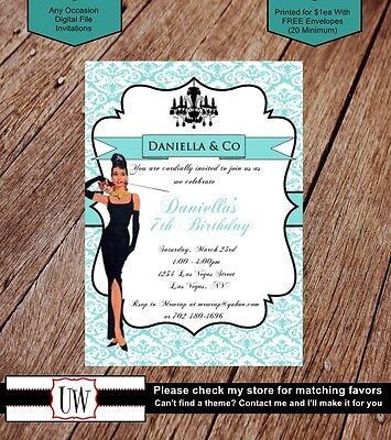 Tiffany & Co Invitations Tiffany Invites Party Bridal Baby Shower Birthday Party](Tiffany And Co Bridal Shower)