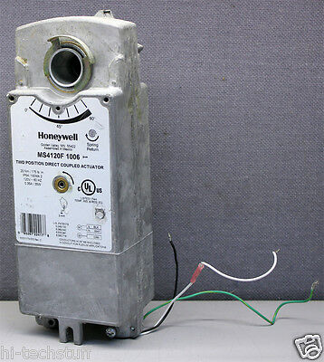 Honeywell Ms4120f1006 Two Position Direct Coupled Damper Actuator