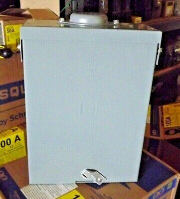 Square D Qo 50-amp Outdoor Manual Transfer Switch Qo8-16l100rb Qo250generator