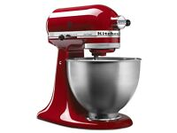 VERY RARELY USED Kitchen Aid Ultra Power Series 4.5-Quart Tilt-Head Stand Mixer (Colour: Red)