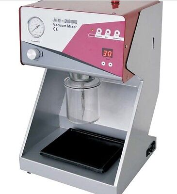 Dental Lab Digital Vacuum Mixer With Built-in Vacuum Pump Usg
