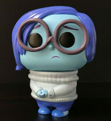 Funko Pop SADNESS from INSIDE OUT 2015 Disney Pixar VAULTED