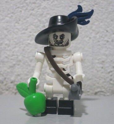 Skeleton Hector Barbossa 4181 Plume Pirates of Caribbean Lego figure minifigure - Hector Barbossa