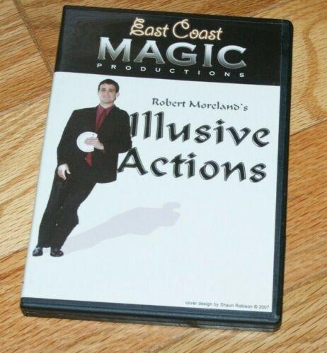 ROBERT MORELAND Illusive Actions (DVD) -- stunning close-up  --TMGS DVD blowout!