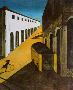 The Mystery and Melancholy...  by Giorgio de Chirico   Giclee Canvas Print Repro