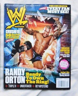 WWE MAGAZINE December 2010 Randy Orton
