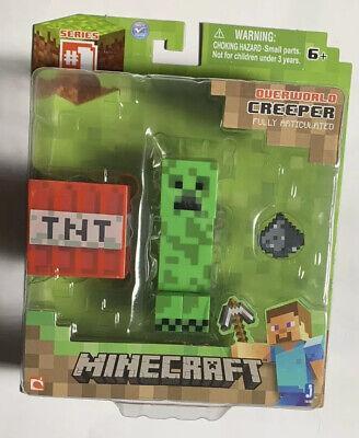 2014 Minecraft Creeper Figure Series 1 New Sealed