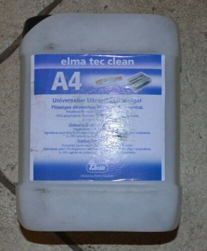 Elma Tec Clean A4 Ultracell Universal cleaner 2.5 Ltr
