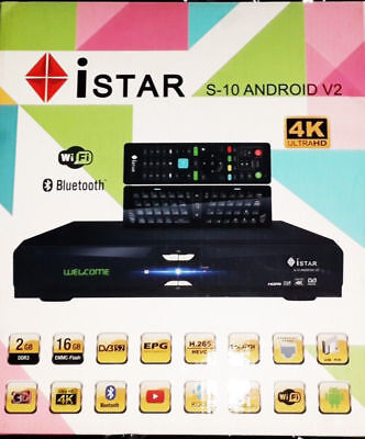 Istar Korea S10 V2 Android 4K 1 Year Free Online Tv 3000 Channels Ramadan Deal
