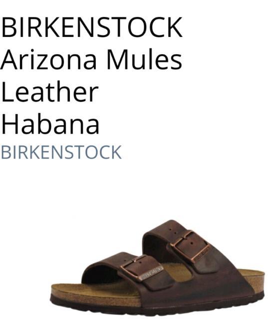 03d29a3edc3e Birkenstock Arizona authentic brand size 38