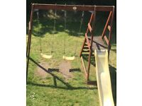 Kids Swings & Slide Set