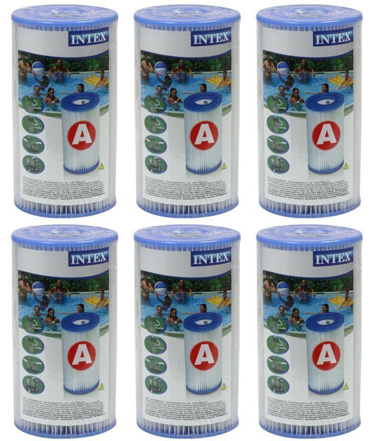 K 6 X Intex Filterkartusche Typ H Filter Pool Pumpe Ersatzfilter