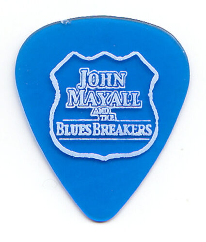 John Mayall and the Bluesbreakers Clear Blue Tour Guitar Pick