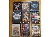 Wrestle mania DVD bundle