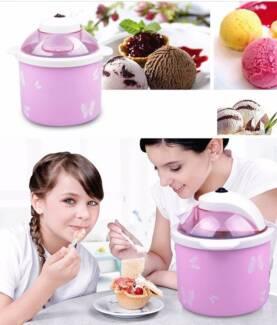 New Electric Ice Cream Maker Frozen Yogurt Dessert Machine 1.5L