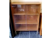 Abbess display cabinet. Great condition, 1960s atomic legs