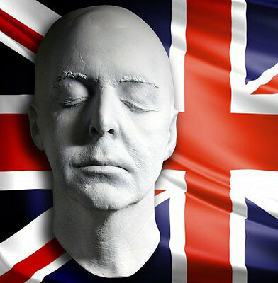 Sir Paul  McCartney 1:1 Life Mask – The Beatles Legendary Icon ()