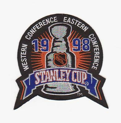 Nhl 1998 Stanley Cup Championship Patch Detroit Red Wings
