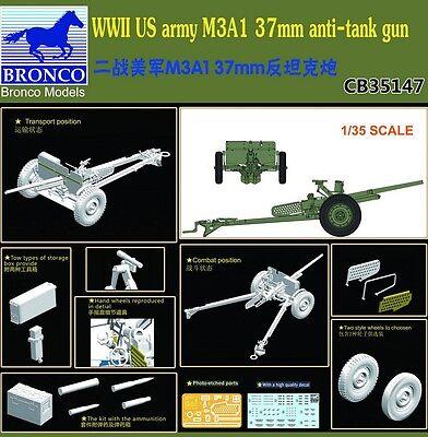 Bronco CB35147 1/35 US Army M3A1 37mm Anti-Tank Gun
