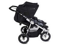 Bumbleride double pushchair for twins