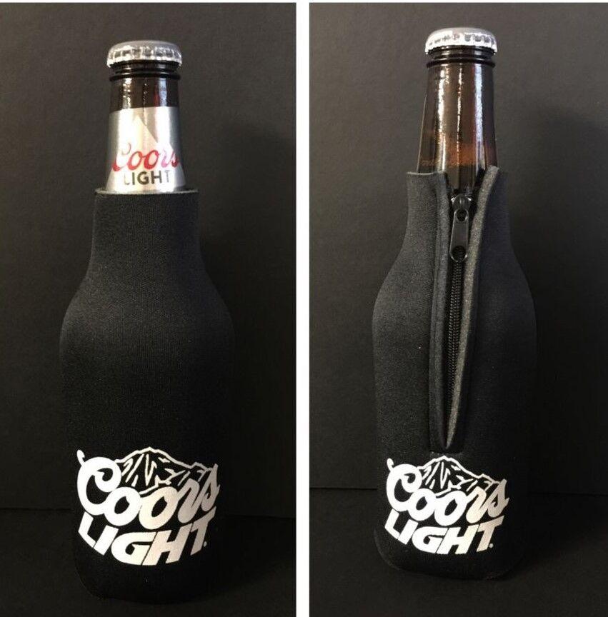 Coors Light Beer Koozie 12 oz Bottle Classic Logo ~ New & Fr