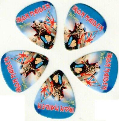 5 Puas guitarra Iron Maiden